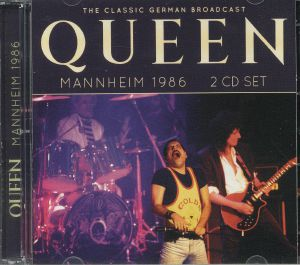QUEEN - Mannheim 1986