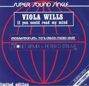 WILLS, Viola - If You Could Read My Mind (Massivedrum's 70's Disco Edit)