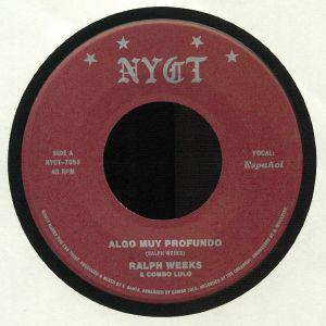 WEEKS, Ralph/COMBO LULO - Algo Muy Profundo