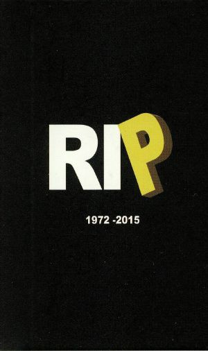 PRICE, Sean - RIP 1972-2015