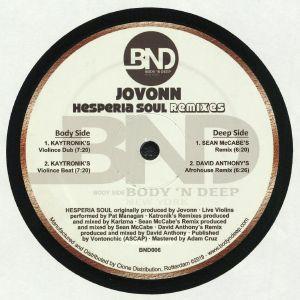 JOVONN - Hesperia Soul (remixes)