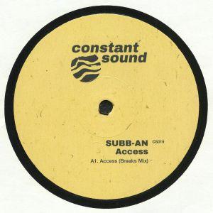 SUBB AN - Access (Breaks/Relic mixes)