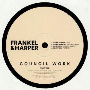 FRANKEL & HARPER/DAYNE HARPER/TOM FRANKEL - Dread EP