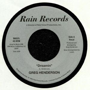 HENDERSON, Greg - Dreamin (reissue)