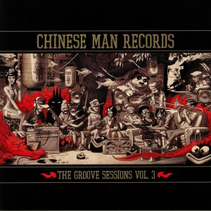 CHINESE MAN/VARIOUS - The Groove Sessions Vol 3