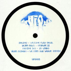 SHLOMO/ALIEN RAIN/MAXIME IKO/ALAN OLDHAM - UFOX 02