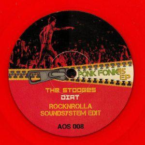 STOOGES, The/TC MATIC/SHRIEKBACK/BLONDIE - Ponk Fonk EP
