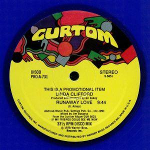 CLIFFORD, Linda - Runaway Love (reissue)