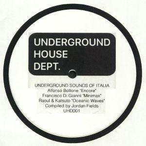BOTTONE, Alfonso/FRANCISCO DI GIANNI/RAOUL/KATSUTO/JORDAN FIELDS - Underground Sound Of Italia