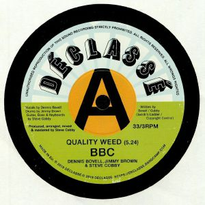 BBC aka BOVELL BROWN & COBBY - Quality Weed