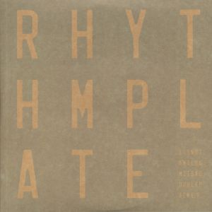 RHYTHM PLATE - It's Not An Album It's A Doublepack EP