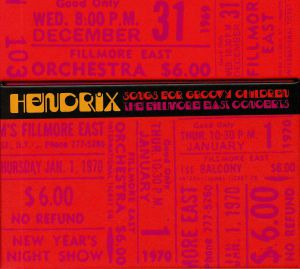 HENDRIX, Jimi - Songs For Groovy Children: The Fillmore East Concerts