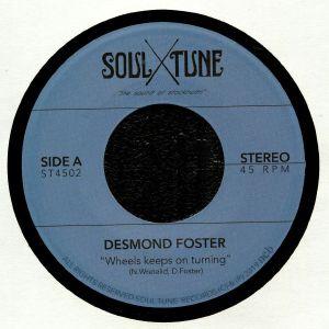 FOSTER, Desmond - Wheels Keep On Turning
