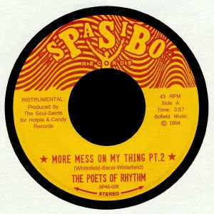 POETS OF RHYTHM, The - More Mess On My Thing Part 2