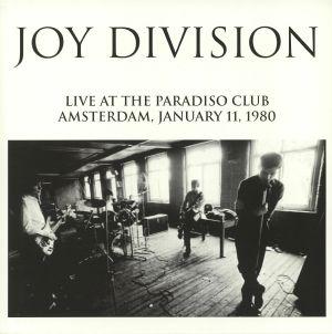 JOY DIVISION - Live At The Paradiso Club Amsterdam 1980