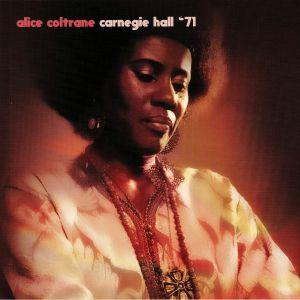 COLTRANE, Alice - Carnegie Hall '71 (reissue)