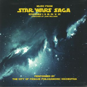CITY OF PRAGUE PHILHARMONIC ORCHESTRA, The - Music From Star Wars Saga (Soundtrack)