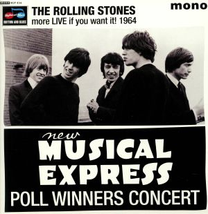 ROLLING STONES, The - More Live If You Want It! 1964 (mono)