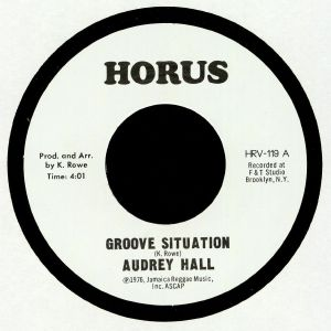HALL, Audrey/JRM ORCHESTRA - Groove Situation