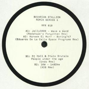 JELLY3000/KAREEM EL MORR/DJ HELL/ITALO BRUTALO/1KW - Bavarian Stallion Remix Series 1