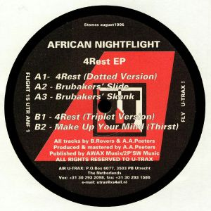 AFRICAN NIGHTFLIGHT - 4Rest EP (reissue)