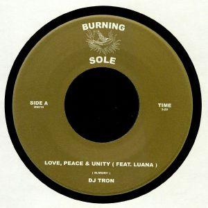 DJ TRON feat LUANA - Love Peace & Unity