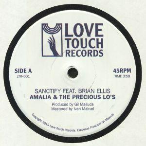 AMALIA & THE PRECIOUS LO'S feat BRIAN ELLIS - Sanctify