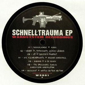 RADIKALMINDZ/E605/V8/DIE KLEINENSPACHTE/GABBRO/THE SPEEDCORE JUNKIE/OCCULKOT - Schnelltrauma EP