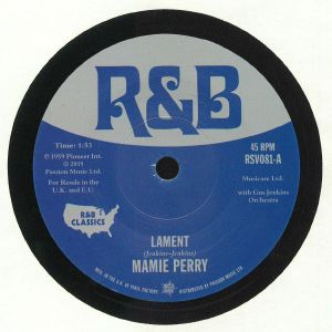PERRY, Mamie/ANNA BELLE CEASAR - Lament