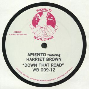 APIENTO feat HARRIET BROWN - Down That Road