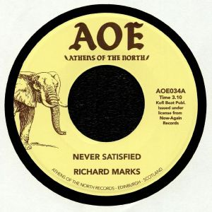 MARKS, Richard - Never Satisfied (reissue)