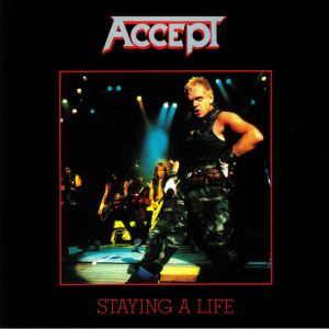 ACCEPT - Staying A Life (reissue)