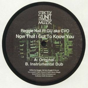 HALL, Reggie feat GU aka CVO - Now That I Got To Know You