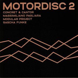 FUNKE, Sascha/MODULAR PROJECT/MASSIMILIANO PAGLIARA/CONCRET/CANTOR - Motordisc 2