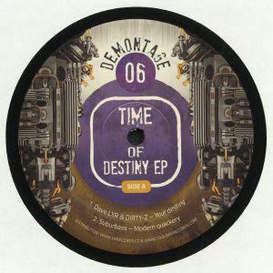 DAVE LXR/DIRTY Z/SUBURURBASS/MECHOZ/TMH TRANZIT - Time Of Destiny EP
