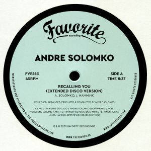 SOLOMKO, Andre - Recalling You
