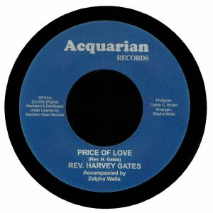 REV HARVEY GATES - Price Of Love (reissue)