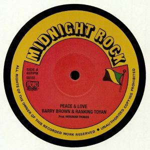 BROWN, Barry/RANKING TOYAN/JAH THOMAS - Peace & Love