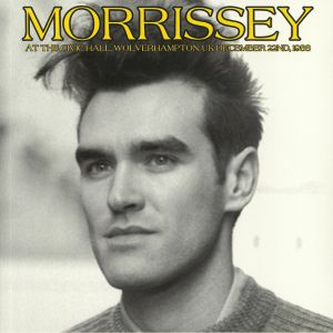 MORRISSEY - At The Civic Hall Wolverhampton UK December 22nd 1988