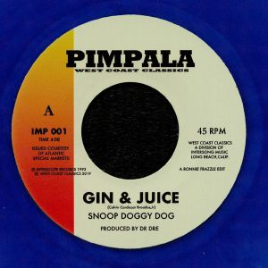 SNOOP DOGGY DOGG/DJ QUIK - Gin & Juice (reissue)