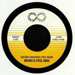 GOLDEN SUNSHINE STEEL BAND, The - Drums & Steel Song (reissue)