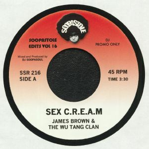 BROWN, James/THE WU TANG CLAN - Sex CREAM (reissue)