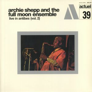 SHEPP, Archie/THE FULL MOON ENSEMBLE - Live In Antibes Vol 2