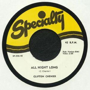 CHENIER, Clifton - All Night Long (reissue)
