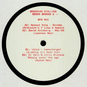 KESSEL VALE/DAVID GOLDBERG/VINCE/DJ HELL/ITALO BRUTALO - Bavarian Stallion Remix Series 2