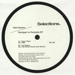 DANTON, Tobi/KEVIN OVER - Stuttgart to Parkdale EP (Kevin Over remix)