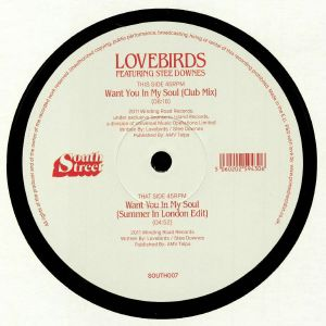 LOVEBIRDS feat STEE DOWNES - Want You In My Soul
