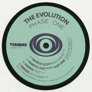 SCOTT, Patrice/KEMETIC JUST presents JUST ONE/HANNA/REEKEE - The Evolution Phase One