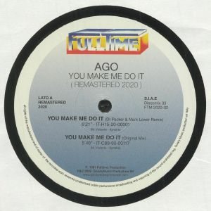 AGO - You Make Me Do It (remastered)
