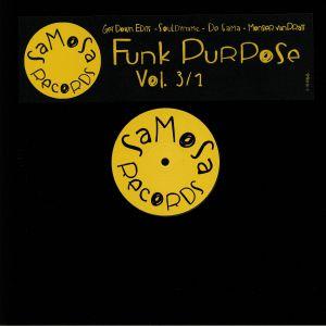 GET DOWN EDITS/MONSIER VAN PRATT/SOULDYNAMIC/DE GAMA - Funk Purpose Vol 3 Part 1